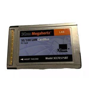 3CCFE575BT- 10/100 LAN CardBus PC Card